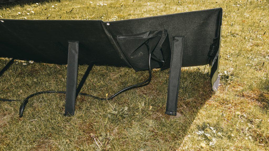 Solarmodul Rückseite