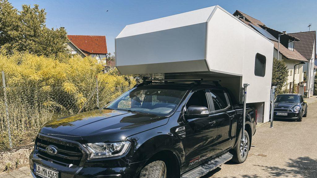 Ford mit Wohnkabine