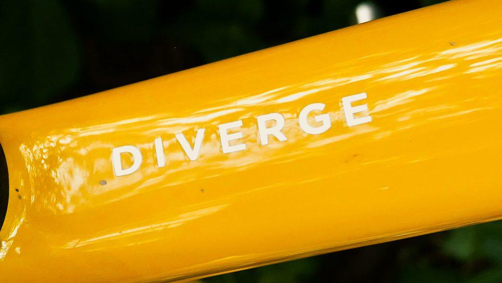 Diverge Specialized Schriftzug